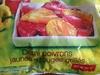 Demi poivrons jaunes et rouges grillés - Produit
