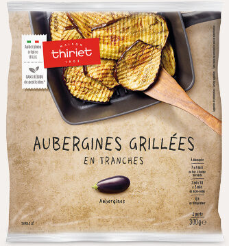 Aubergines grillées en tranches - Prodotto - fr
