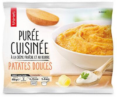 Purée de patate douce cuisinée - Produit - fr