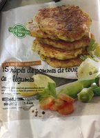 Râpes de pomme de terre au légumes - Produit - fr