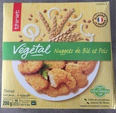 Végétal Nuggets de Blé et Pois - Prodotto - fr