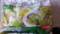 Galettes poireaux pommes de terre - Product