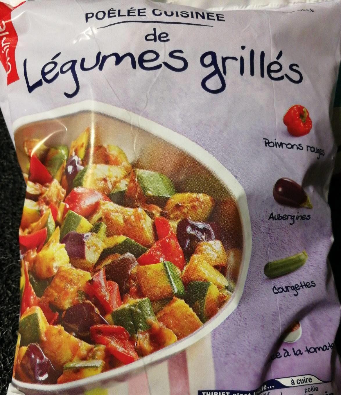 Poêlée cuisinée de légumes grillés - Produit - fr