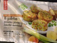 Gallette de légume - Produit