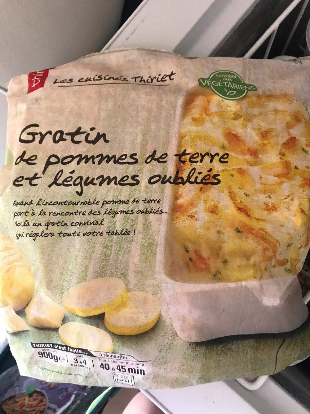 gratin pdt légumes oubliés - Product