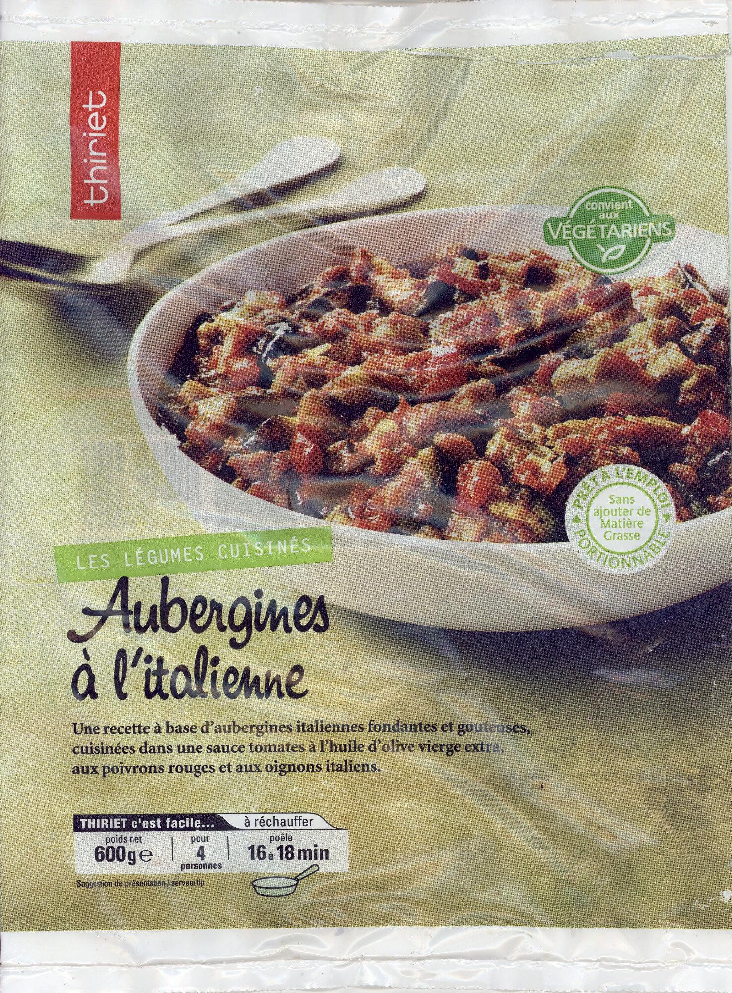 Aubergines à l'italienne - Product