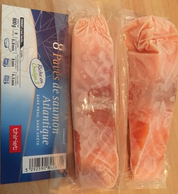 Pavés de saumon Atlantique sans peau, sans arête - Product - fr