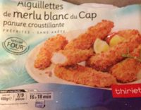 Aiguillettes de merlu blanc du Cap - Produit - fr