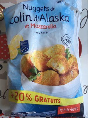 Nuggets de colin d'Alaska et Mozzarella - Product - fr