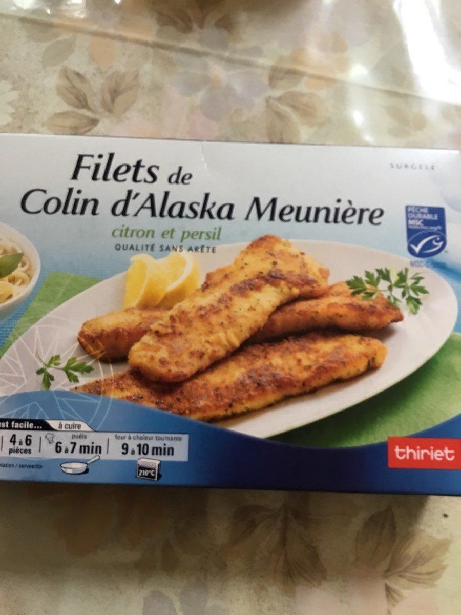 Filet de colin d'alaska meuniere - Product