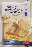 Filets de Merlu Blanc du Cap Meunière Citron-Persil - Produit