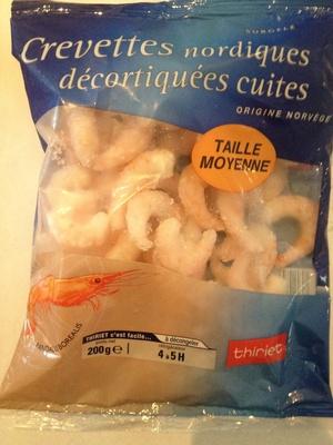 Crevettes nordiques décortiquées cuites - Product
