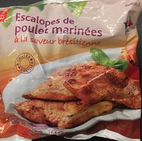 Escalopes de poulet marinées à la saveur bresilienne - Produit