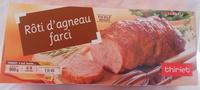 Rôti d'agneau farci, Surgelé - Product - fr