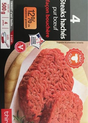 Steak Haché Salers 12%Mg - Product