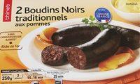 2 Boudins Noirs traditionnels aux pommes - Produit - fr
