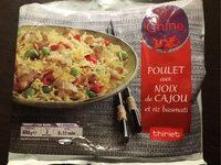 Poulet Aux Noix De Cajou Et Riz Basmati - Produit