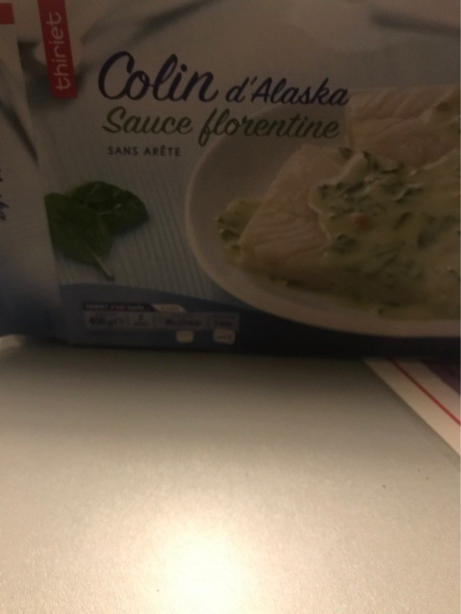 Colin d'alaska sauce florentine - Product