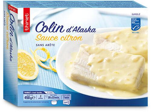 Colin d'Alaska sauce citron - Product - fr