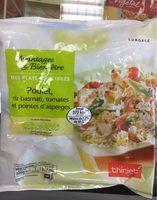 Poulet, Riz Basmati, Tomates et Pointes d'asperges - Product