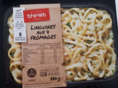 Linguines aux 4 fromages - Product