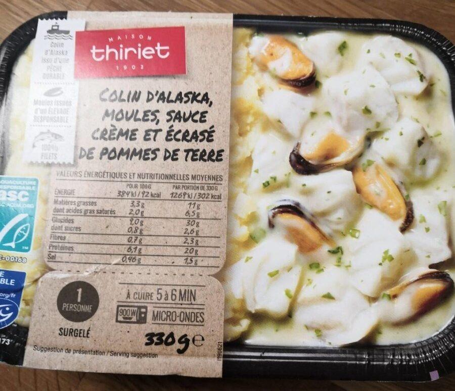 Colin d'Alaska, moules - Produit - fr