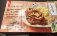 Langue de boeuf, sauce piquante et purée de pomme de terre - Product - fr