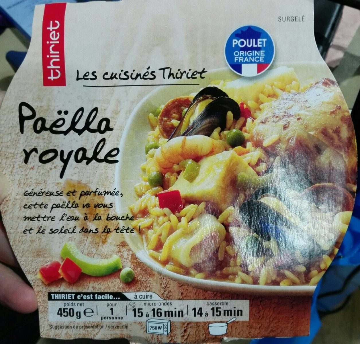 Paella Royale Thiriet 450 G E