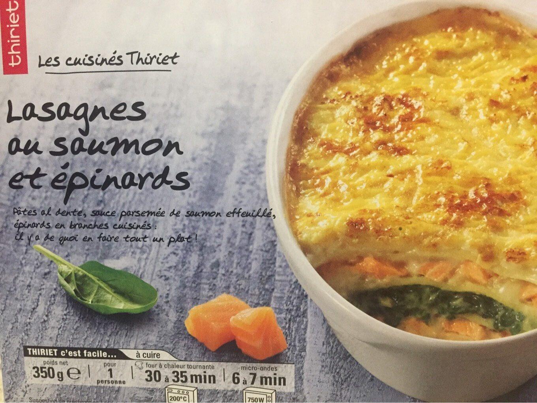 Lasagnes saumon epinards - Product