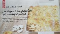 Lasagnes au Poulet et Champignons - Product - fr