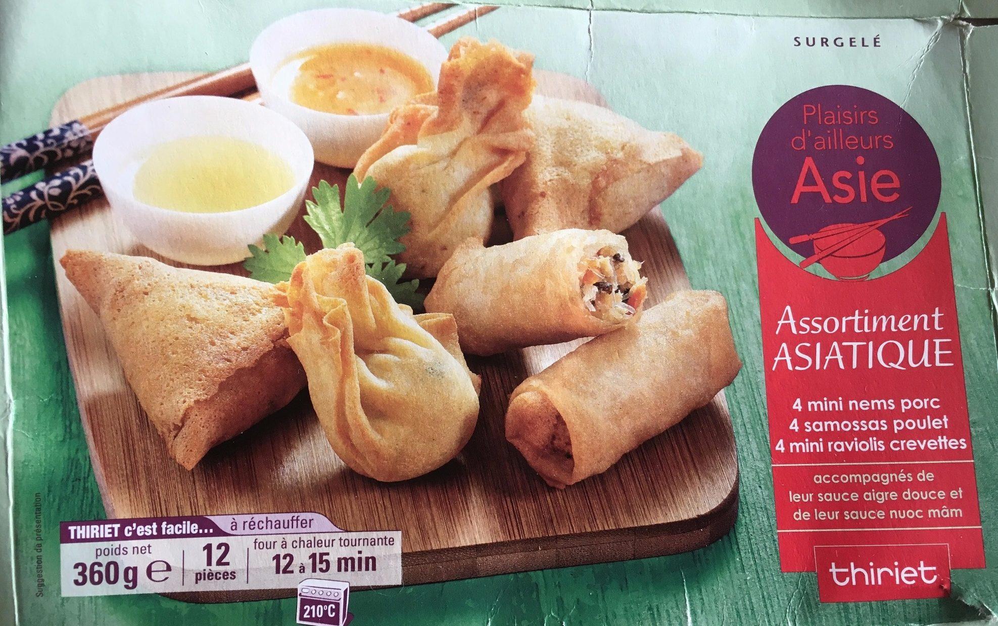 Assortiment Asiatique - Product - fr