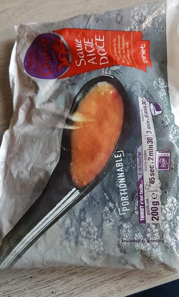 Sauce aigre douce de Chine - Produit