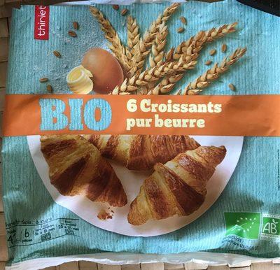 Croissants bio pur beurre - Produit - fr