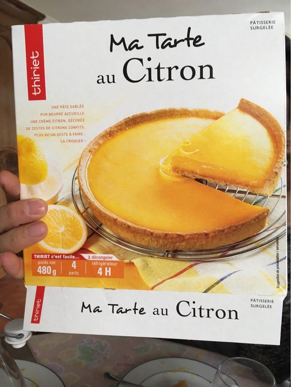 Tarte citron - Product - fr