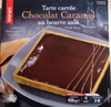 Tarte carrée chocolat caramel au beurre salé - Produit