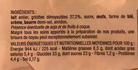 Mon Clafoutis aux Griottes - Informations nutritionnelles - fr