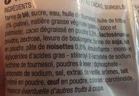2 Maxi donuts fourrés - Ingrédients - fr