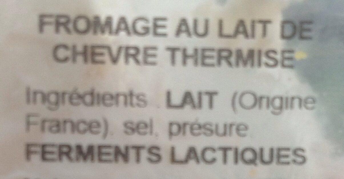 Fromage frais blanc x3 - Ingrédients - fr