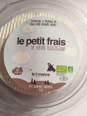 Le petit frais de chèvre bio - Produit - fr