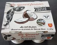 Le yaourt fermier coco - Product