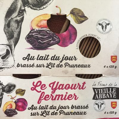 Le yaourt fermier - Produit