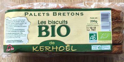 Palets Bretons - Biscuits Bio - Prodotto - fr