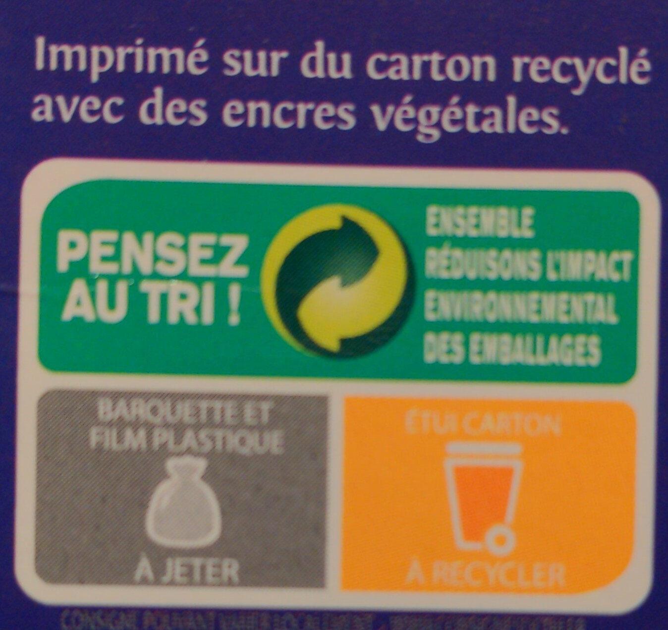 Galettes Fines de Bretagne - Instruction de recyclage et/ou information d'emballage - fr