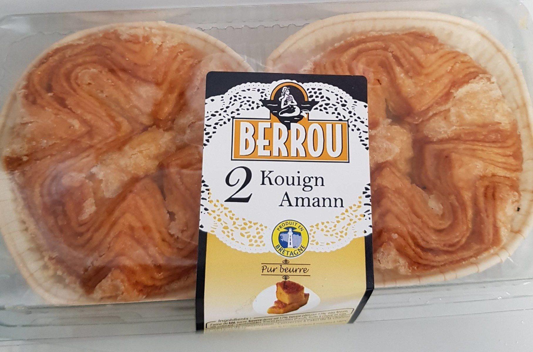 2 Kouign Amann Pur Beurre - Produit