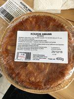 Kouign amann - Ingrédients - fr