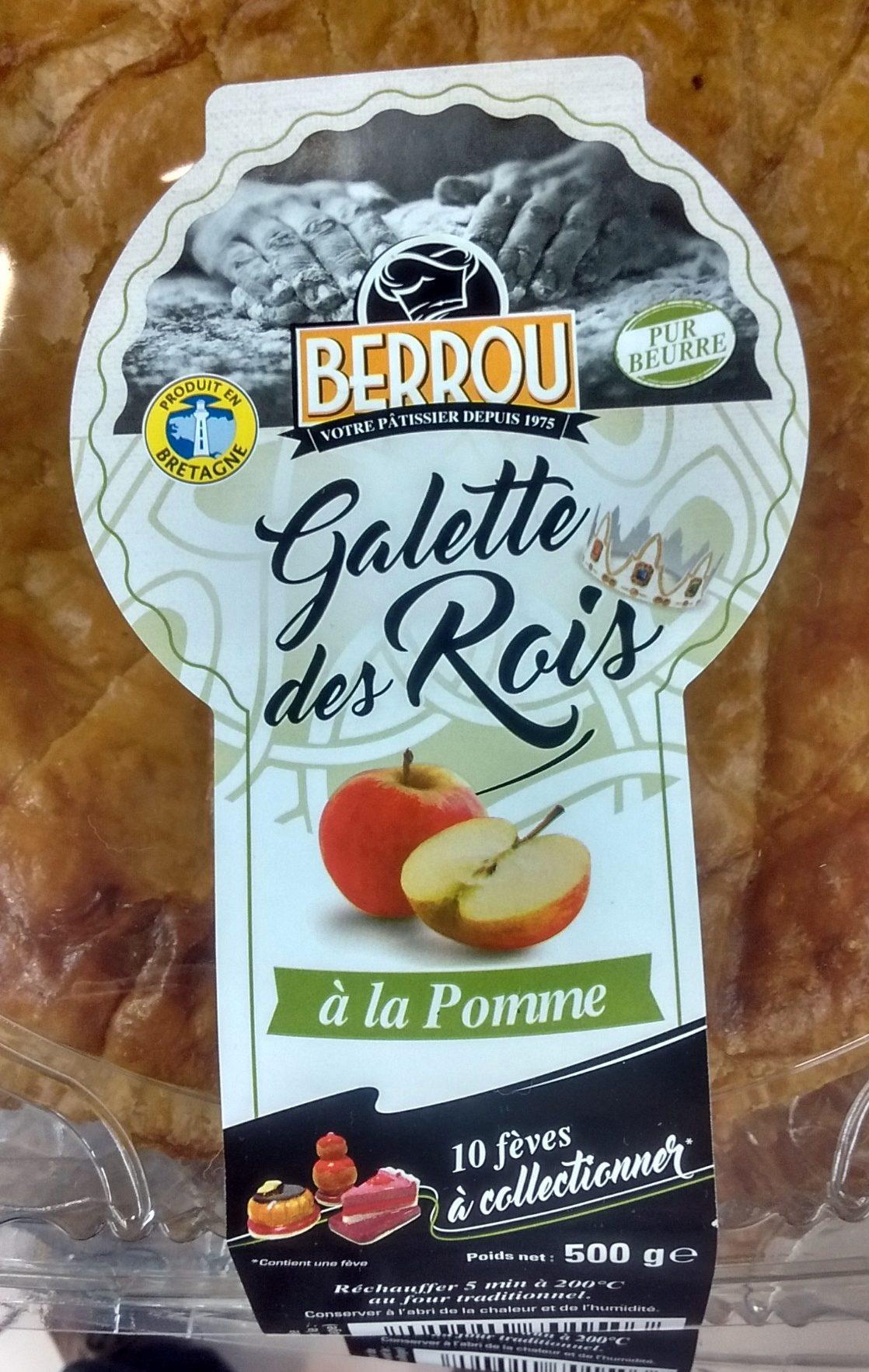 Galettes des Rois à la Pomme - Product - fr