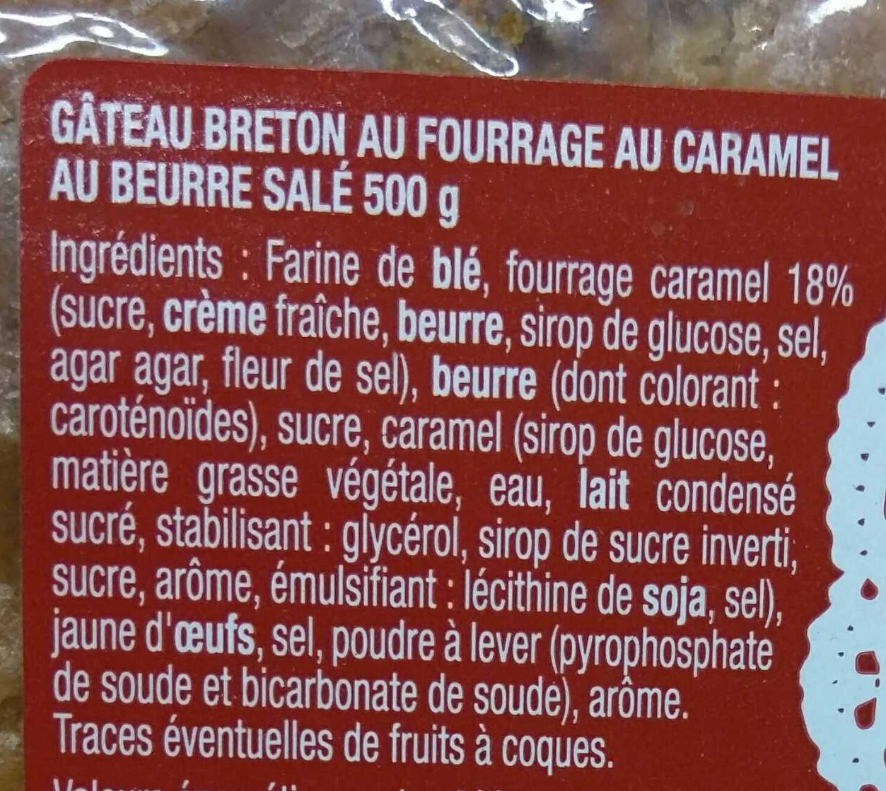 G teau breton caramel au beurre sal berrou 500 g - Bicarbonate de soude carrefour ...
