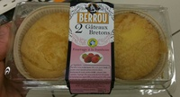 Gâteaux Bretons Fourrage à la Framboise - Product