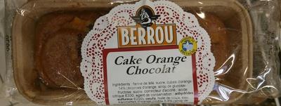Cake Orange Chocolat - Product - fr