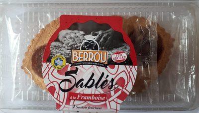 Sablés à la Framboise Pur Beurre - Product - fr